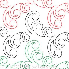 Bubble Vine Digital Machine Quilting Pattern by Clothwerx Embroidery Letters, Paper Embroidery, Learn Embroidery, Embroidery For Beginners, Embroidery Techniques, Embroidery Designs, Floral Embroidery, Embroidery Stitches, Quilting Stencils