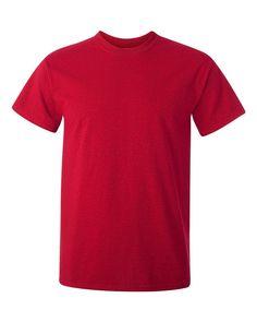 6 NEW MENS Wholesale Plain Gildan 100/% Cotton White Adult T-Shirts S M L XL