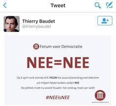 Thierry Bidet zegt nee maar bedoelt ja  Duidelijk een teken dat hij overheerst en gedomineerd wil worden. Vandaar dat het verdrag doorgaat. Vind ie lekker. Heeft zo'n intellectueel nodig. Anders worden ze onrustig. Kennen ze hun plaats niet meer. #ironie