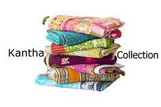 Vintage Kantha Throw   Kantha Collection
