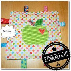 *Schnief* Hier kommt die Anleitung für eine Taschentüchertasche (TaTüTa). Ein schönes Nähprojekt für Kinder und Nähanfänger...
