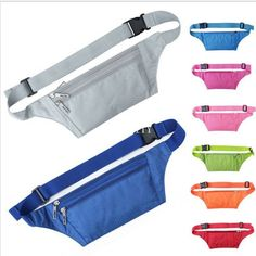 Hot New Waterproof Waist Travel Sport Belt Money Wallet Pouch With Funny Bum Hip Bag For Outdoor Sports Running, Walking, Hiking Leisure Mini Zip Bag Product Features: 100% Brand New And High quality