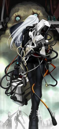 Tags: Anime, Blame!, Cibo, Tef