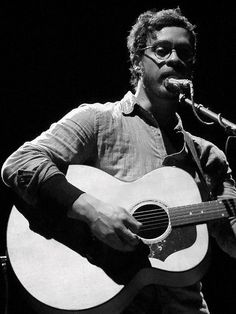 Amos Lee...I just love this man's voice. <3 Got to see him Feb 28th 2014 at Bayou Center front row! Amazing talent!