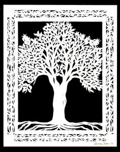 Tree Of Life Pattern | Papercut+Tree+of+Life+Wedding+Gift+Gould.jpg