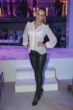 Celebs at Mercedes-Benz Fashion Week 2014 Berlin