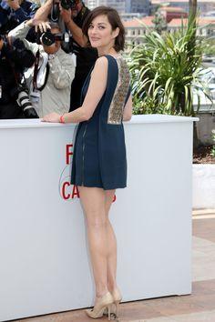 Marion Cotillard | May 2013 | Antonio Berardi | Jimmy Choo