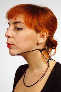 Minimalist neck brace with all the function of more bulky designs.