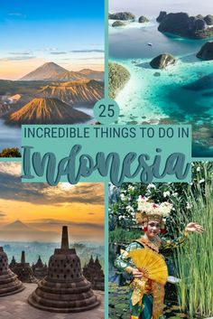 Indonesia is a fabulous holiday destinations, with incredible landscapes, archeological sites and traditions. Read this post to discover the best things to do in Indonesia Bali Travel, Africa Travel, Thailand Travel, Stuff To Do, Things To Do, South America Travel, Koh Tao, Vietnam Travel, France Travel