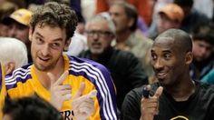 Kobe Bryant: Pau Gasol isn't leaving Lakers while I'm here