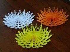 How to make beautiful paper decoration 3D snowflake for Christmas (money saving DIY ideas) - YouTube   БУМАЖНЫЕ ФАНТАЗИИ   Постила