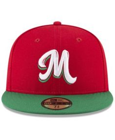 New Era Mexico Caribbean Series Vize 59Fifty Fitted Cap - Red 7 5 8 Gorra 4decd7a5bbe5d