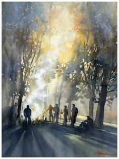 "Thomas W Schaller, ""Family Summit,"" 2012."