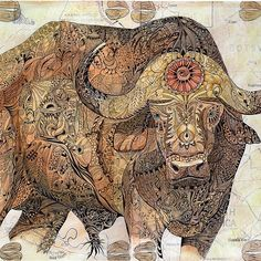 'Buffalo' iPhone Case by ValMyburgh Painting & Drawing, Dean, Iphone 11, Buffalo, Paintings, Drawings, Art, Craft Art, Painting Art