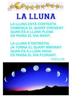 Poema La lluna Sistema Solar, Catalan Language, Conte, Poems, Projects To Try, Science, Maui, Google, Astronomy