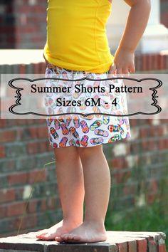 Shorts pattern for V