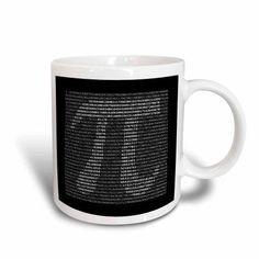 3dRose Pi Written Out, Ceramic Mug, 11-ounce