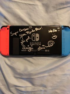 Charles Martinet signed my Switch today  http://bit.ly/2lnzap3 #nintendo