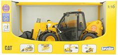 Bruder CAT Telehandler Caterpillar Toys, Play Vehicles, Kids Toys, Monster Trucks, Cats, Amazon, Top Rated, Construction, Products