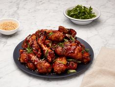 If you're in the sticky-saucy chicken camp then these are the wings for you. Plus, since they're baked the clean up is easy and you won't feel the gut-busting effect of your run-of-the-mill chicken wing.