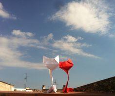 I miau you! Gatos de origami