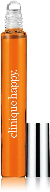 Clinique Happy Perfume Rollerball is a chic, modern, multi-layered floral with sparkling, lingering fragrance of Ruby Red Grapefruit, Boysenberry Bush Flower and Hawaiian Wedding Flower.