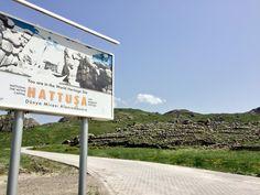 ヒッタイト帝国の都、ハットゥシャの遺跡。高度な製鉄技術を持った人たちの夢の跡。アナトリア高原中部の丘陵地帯。