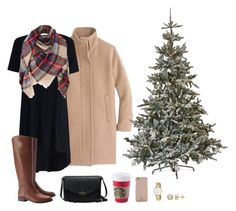"""Buying and decorating our tree this weekend! :)"" by rhiannon-lilinoe on Polyvore featuring J.Crew, Home Decorators Collection, Zimmermann, Tory Burch and Kate Spade"