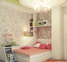 cool teen room decorations for girls  Decorating A Teenager's Room For Girls