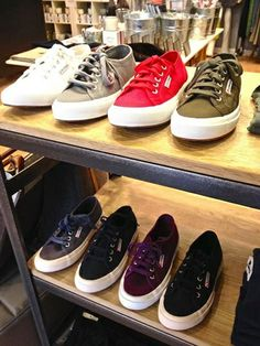 Love these Superga Sneakers at Roots...Chestnut Hill