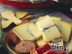 Raclette franc-comtoise au morbier et à la saucisse de Morteau