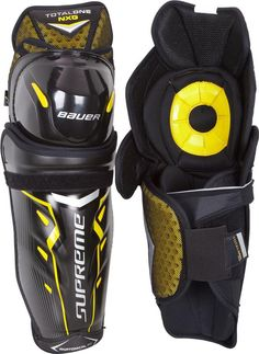 Bauer Supreme TotalOne NXG Shin Guards [Senior] | Total Hockey Equipment