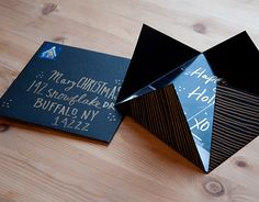 design sponge: printed picture holiday cards.