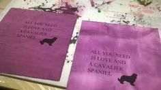 I made these at school, and sewed them as pillowcases.