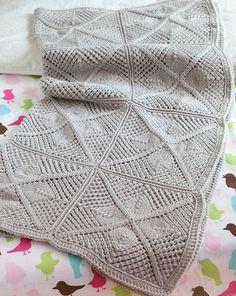 Ravelry: Maria Baby Blanket pattern by Kirsten Hipsky
