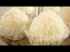 ▶ Cómo hacer Trufas o Bolitas de Coco   LHCY - YouTube