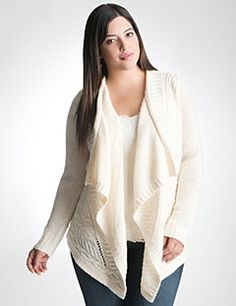 Embrace the classic elegance of our cable knit open cardigan. Pairing timeless cable knit detailing with a modern asymmetric hem, this long sleeve overpiece layers beautifully, lending warmth and style to endless ensembles. A wardrobe essential!
