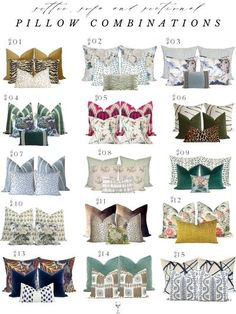 PILLOW TALK: SIZING GUIDANCE FOR SETTEES, LOVESEATS, SOFAS AND SECTIONALS � A Glass of Bovino