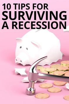 Should you save money? How about your investments during a recession? Let's cover all of the bases so you can be prepared! Money Tips, Money Saving Tips, Money Hacks, Saving Ideas, Budgeting Finances, Budgeting Tips, Dave Ramsey Financial Peace, Budget Envelopes, Financial Tips