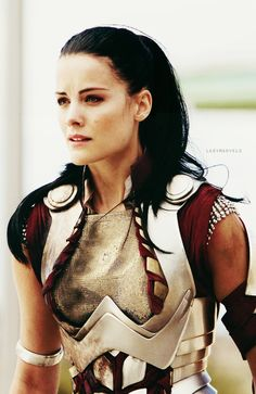 Lady Sif is probably one of my favorite women of the MCU. She's a warrior and doesn't need a male to complete her, yet still enjoys a male's company. I hope I can be like her in some aspects. (Obviously not the full armor part...) // Totally the full armor part.