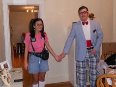 couples halloween costumes nerds achieve with athena