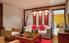 Club Med Phuket - Thailande  Une Chambre Deluxe, spacieuse et élégante, dans une décoration thaïlandaise moderne.