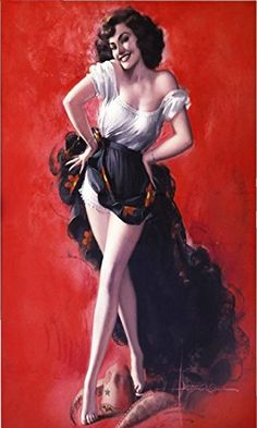 Amazon.com: 1940S Pin-Up Girl The Mexican Hat Dance Picture Poster Print Art Pin Up: Posters & Prints