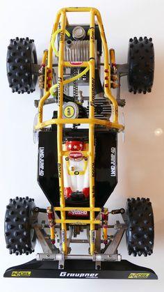 Rc Chassis, Rc Buggy, Rc Vehicles, Rc Autos, Rc Hobbies, Childhood Toys, Tamiya, Radio Control, Rc Cars