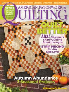 AMERICAN PATCHWORK & QUILTING - OCTOBER 2015