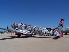 Airplane Art - done by art students.