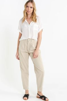 Fern Trousers Rainy Day – Lily Day Lilies, Fern, Ankle Length, Khaki Pants, March, Trousers, Lily, How To Wear, Cotton