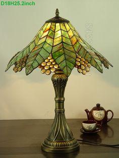 Grape Tiffany Lamp 18S3-139T284
