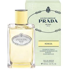 Prada Les Infusions de Prada Mimosa 100ml (€105) ❤ liked on Polyvore featuring beauty products, fragrance, prada, prada perfume and prada fragrance