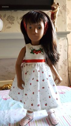 The Dollworks strawberry dress